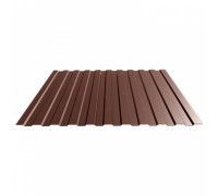Профнастил МП-20 R  (коричневый шоколад)